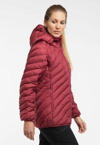 Haglöfs - SÄRNA MIMIC HOOD - Winter jacket - brick red - 2