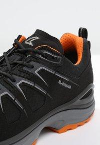 Lowa - INNOX EVO GTX - Hiking shoes - schwarz/orange - 5