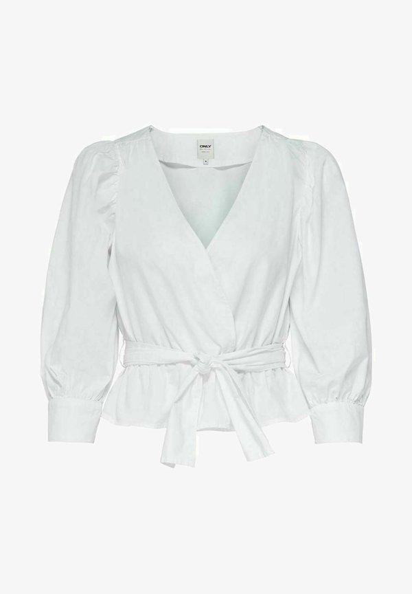 ONLY Bluzka - white/biały EKIE