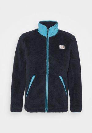 CAMPSHIRE FULL ZIP - Fleece jacket - aviator navy/storm blue