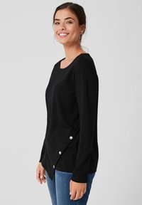 Triangle - Long sleeved top - black - 3