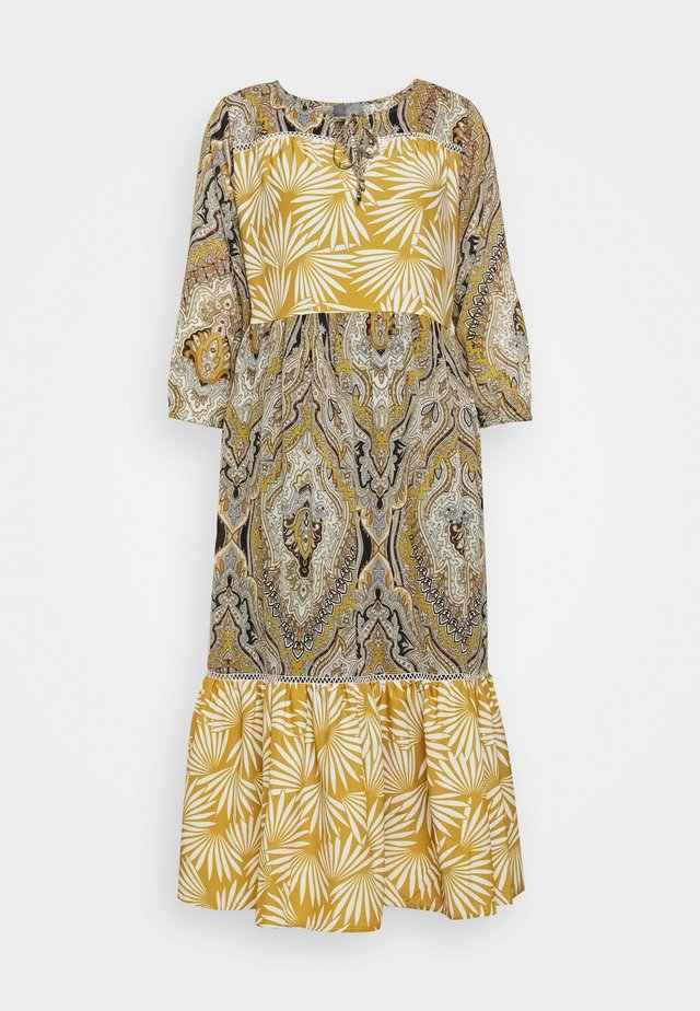 NAZAN DRESS - Korte jurk - honey mustard