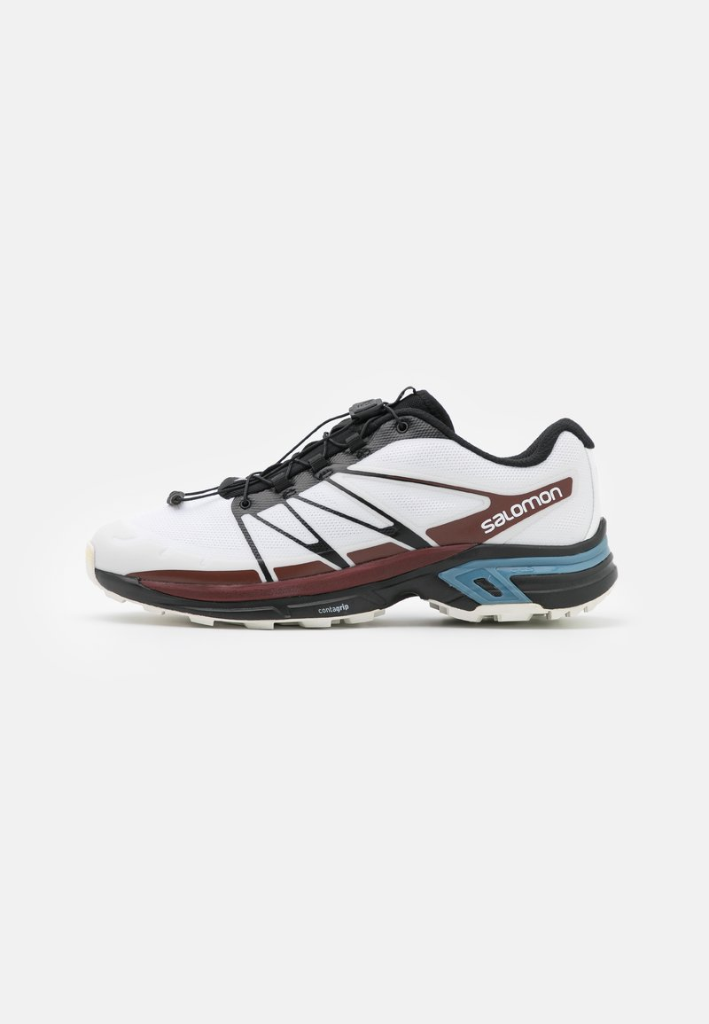 Salomon - XT WINGS 2 UNISEX - Trainers - white/black/biking red