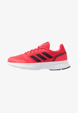 NOVA FLOW - Neutral running shoes - shock red/footwear white/legend ink