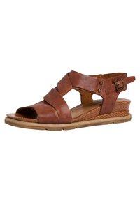 Tamaris - Sandals - nut - 1
