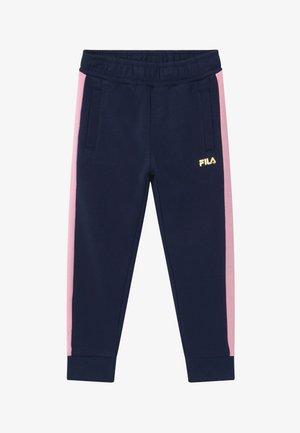 MARIA TRACK PANTS - Trousers - black iris/lilac sachet