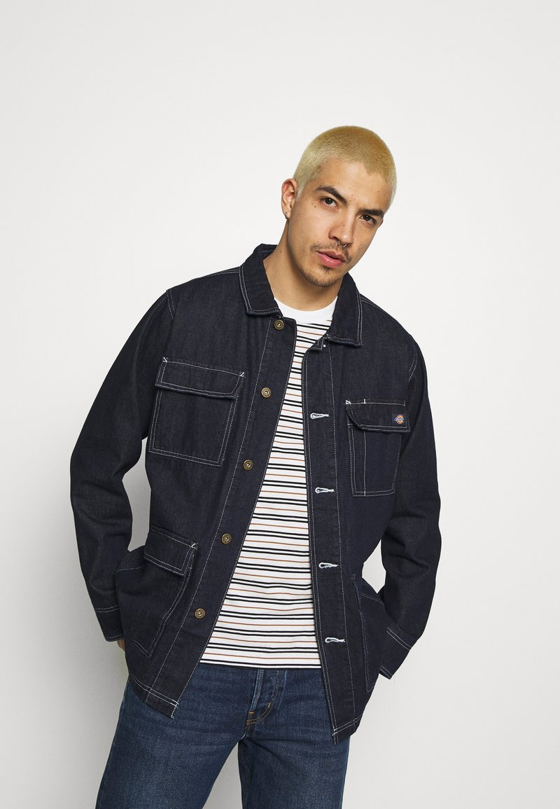 Dickies - MORRISTOWN - Giacca di jeans - rinsed indigo/blue