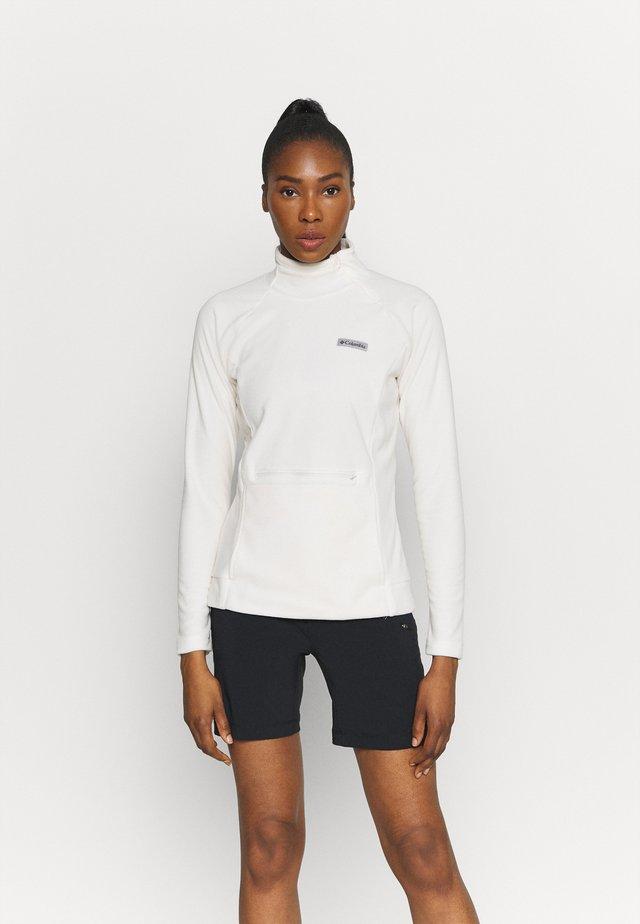 ALI PEAK ZIP - Bluza z polaru - chalk
