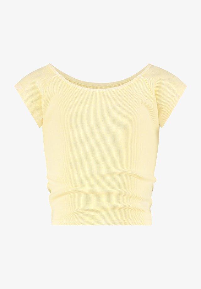 Basic T-shirt - pastel lime