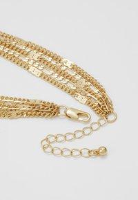 Pieces - PCNATINA COMBI NECKLACE KEY - Halskette - gold-coloured - 2