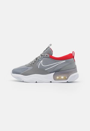 SKYVE MAX UNISEX - Sneakersy niskie - particle grey/white/chile red/white