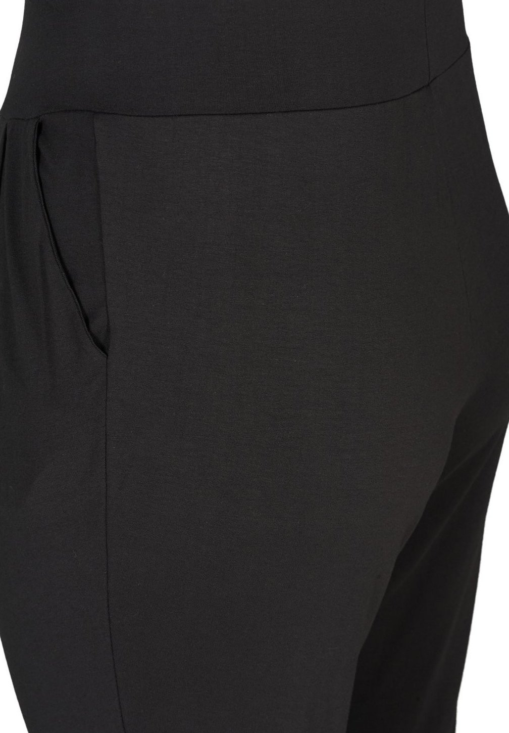 Active by Zizzi Pantalon classique - black fqfSZ7LX