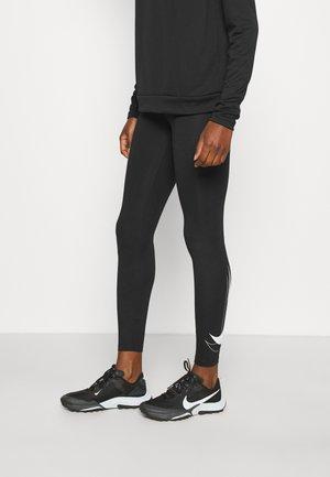 RUN - Leggings - black/white