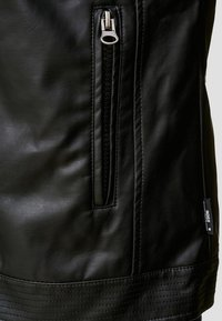 INDICODE JEANS - BROOK - Faux leather jacket - black - 5