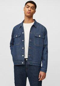 Marc O'Polo DENIM - Denim jacket - multi/neppy blue raw - 0