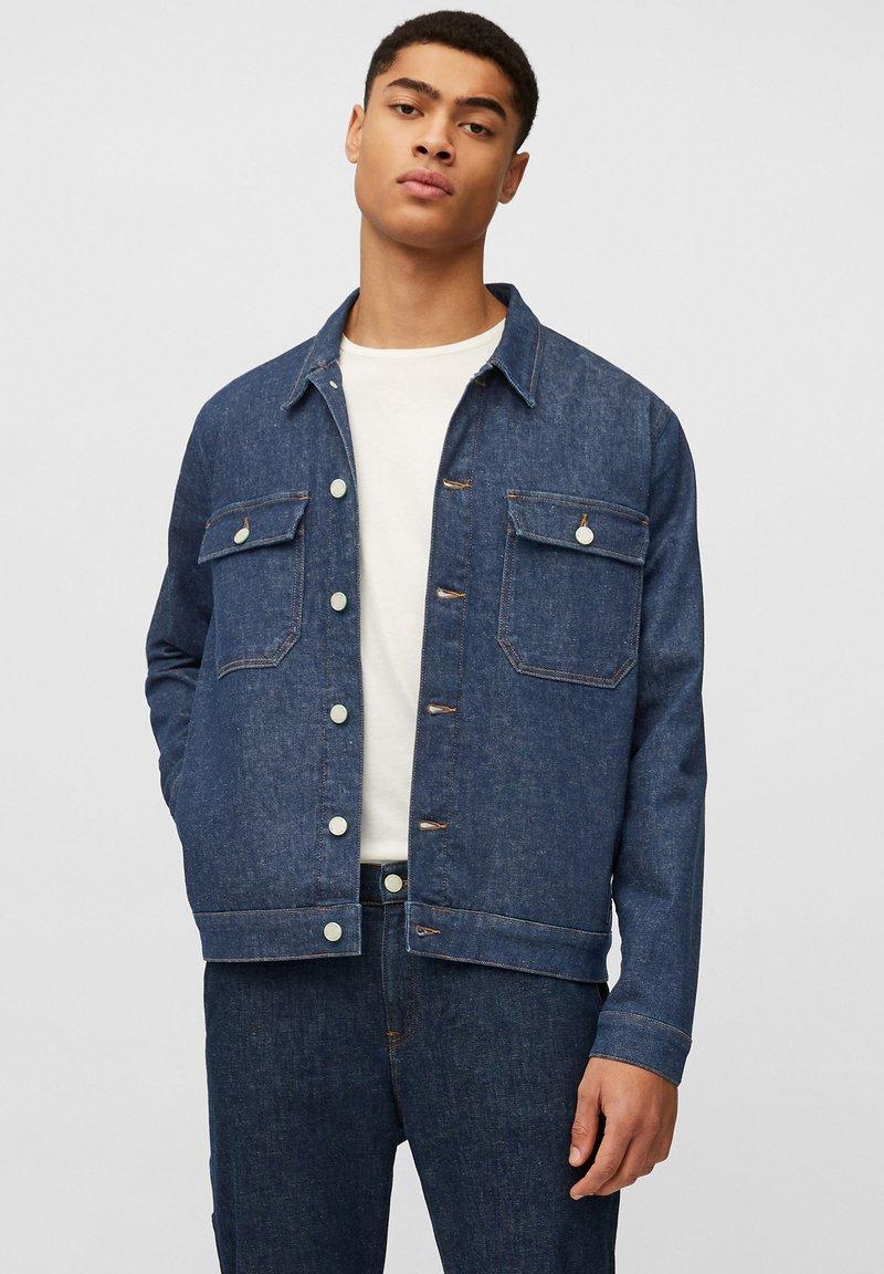 Marc O'Polo DENIM - Denim jacket - multi/neppy blue raw