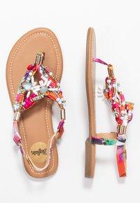 Buffalo - ELISSE - T-bar sandals - multicolor - 3