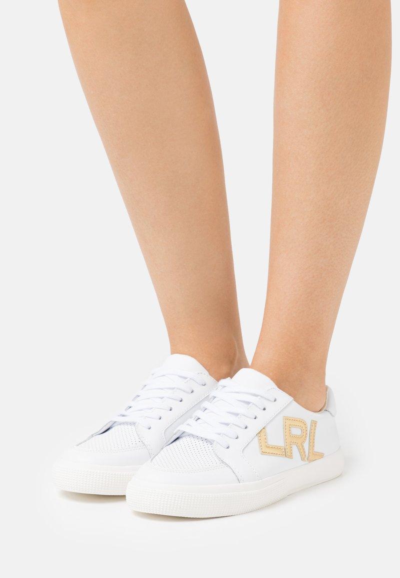 Lauren Ralph Lauren - ACTION JAEDE - Trainers - white