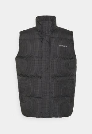DANVILLE VEST - Waistcoat - cypress/black