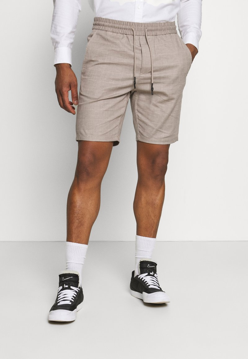 Only & Sons - ONSLINUS  LIFE CHECK - Shorts - chinchilla