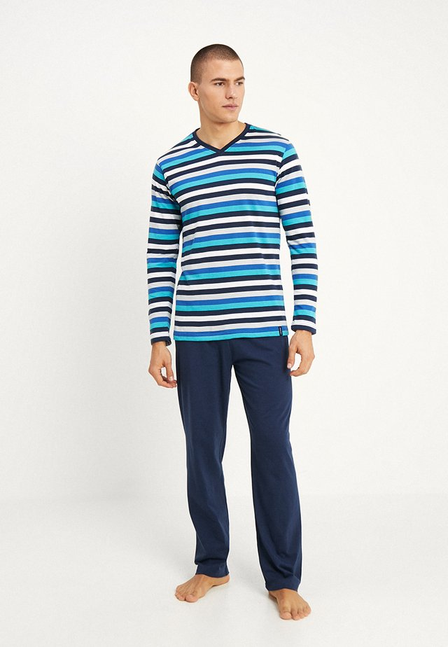 Pyjama set - dark blue/blue