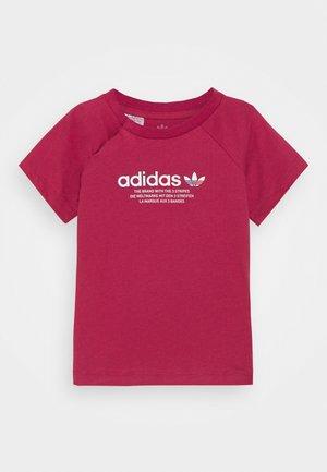 TEE UNISEX - Print T-shirt - pink