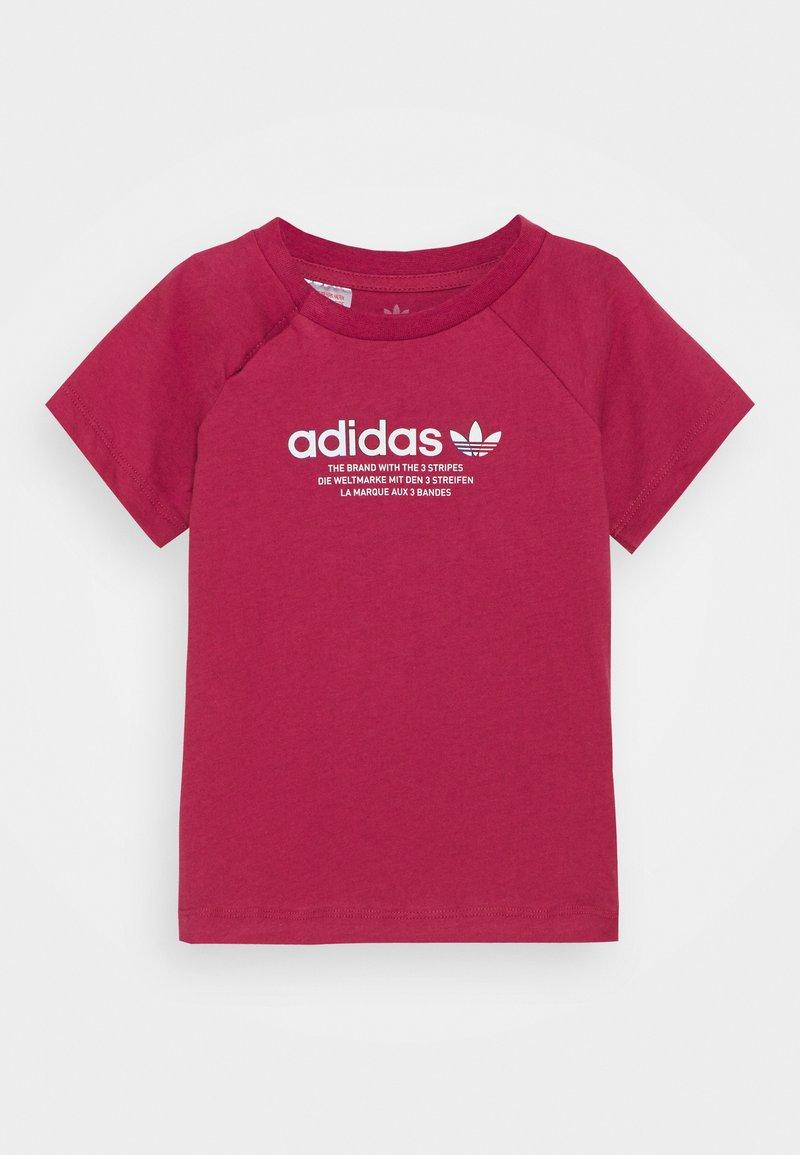 adidas Originals - TEE UNISEX - Print T-shirt - pink