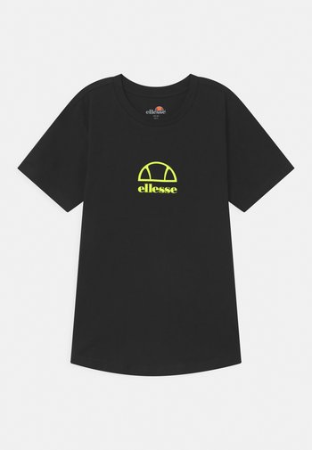 MARYAM UNISEX - Print T-shirt - black