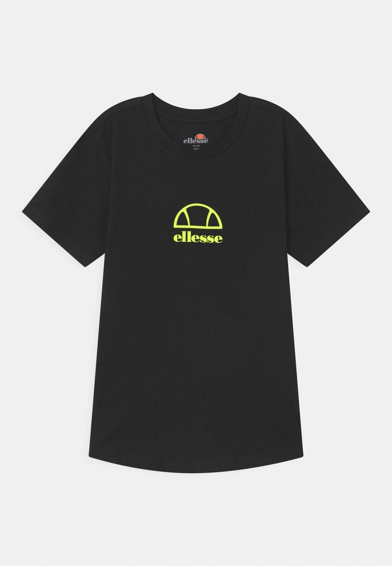 Ellesse - MARYAM UNISEX - Print T-shirt - black