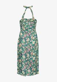 Queen Kerosin - MIT TROPISCHEM MUSTER - Day dress - grün - 1