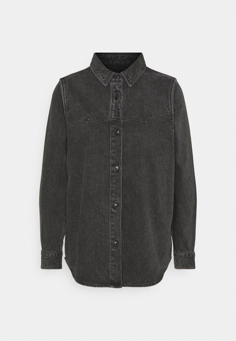 Scotch & Soda - Button-down blouse - black