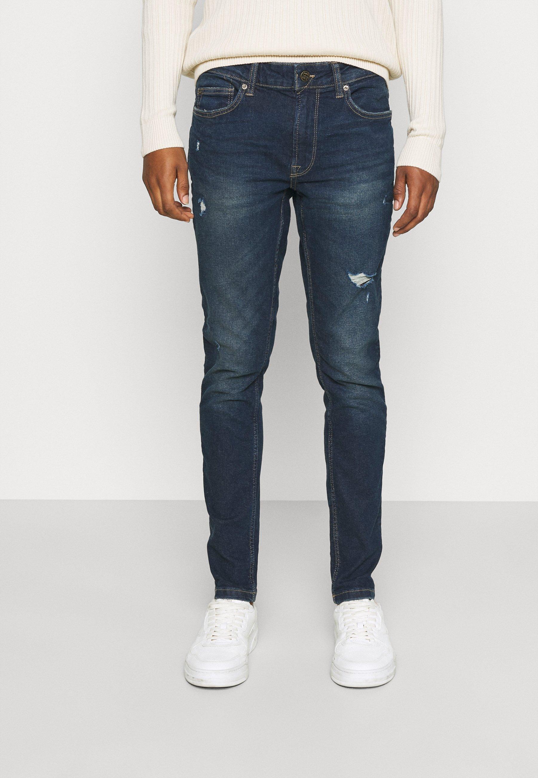 Uomo ONSWARP LIFE DAMAGE - Jeans slim fit
