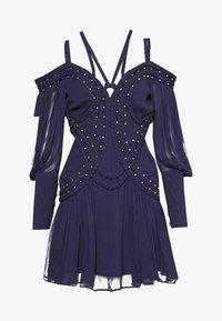 Thurley - MOON RIVER MINI DRESS - Koktejlové šaty/ šaty na párty - black iris - 0