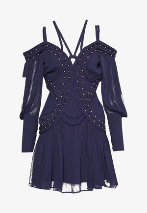 MOON RIVER MINI DRESS - Juhlamekko - black iris