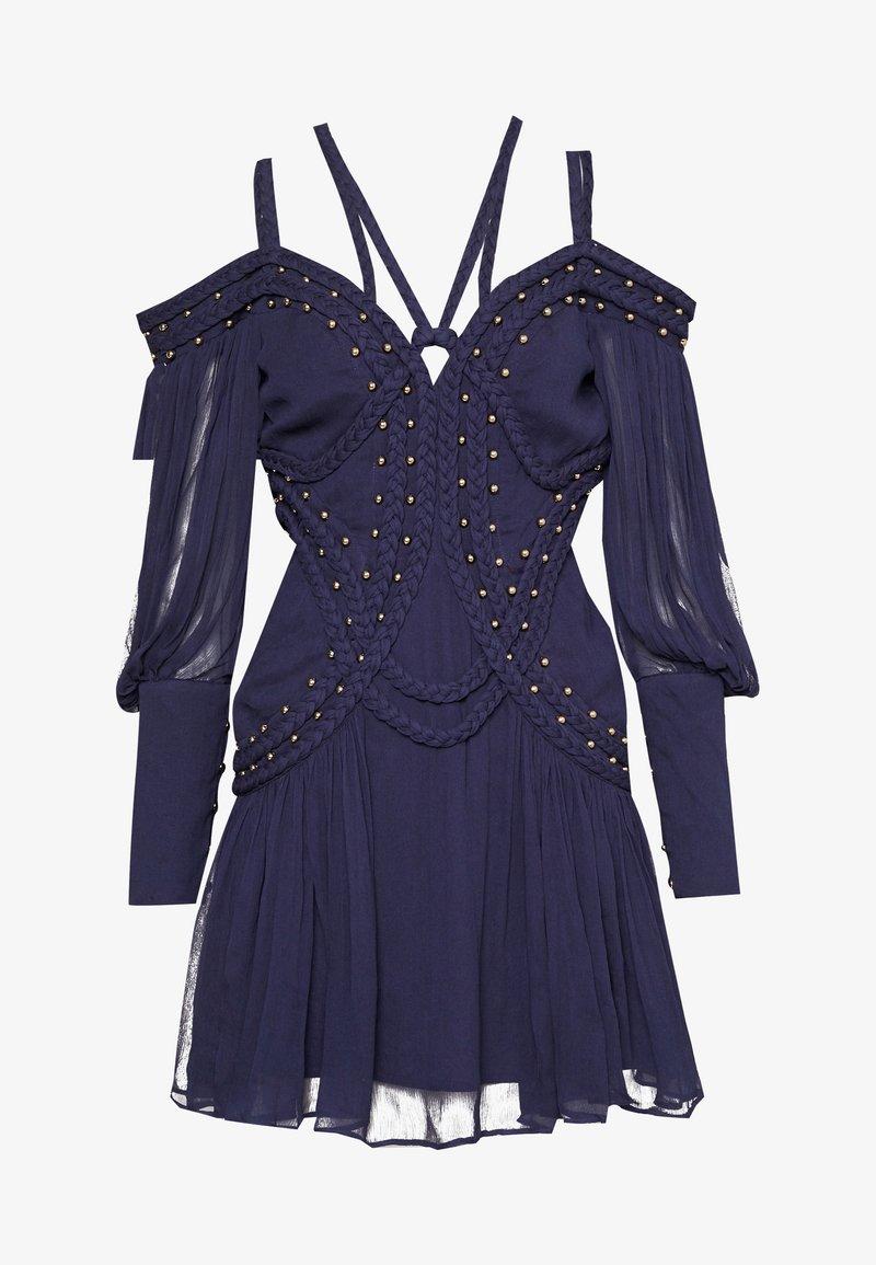 Thurley - MOON RIVER MINI DRESS - Koktejlové šaty/ šaty na párty - black iris