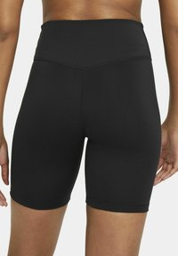 Nike Performance - ONE SHORT - Punčochy - black/white - 4