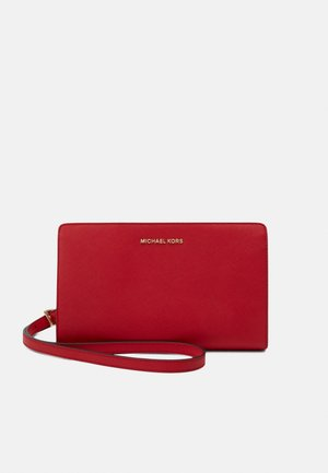 JET SET TRAVEL CROSSBODY - Across body bag - bright red