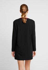 Tommy Jeans - CONTRAST DRESS - Jerseykjole -  black - 3