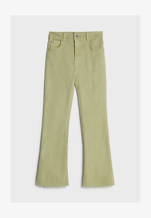 SCHLAGHOSE - Flared jeans - khaki