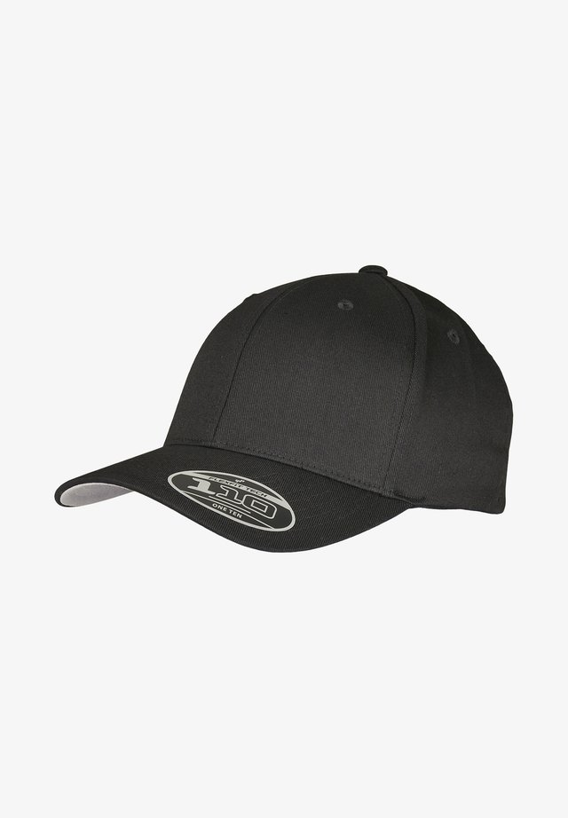WOOLY COMBED  - Caps - black
