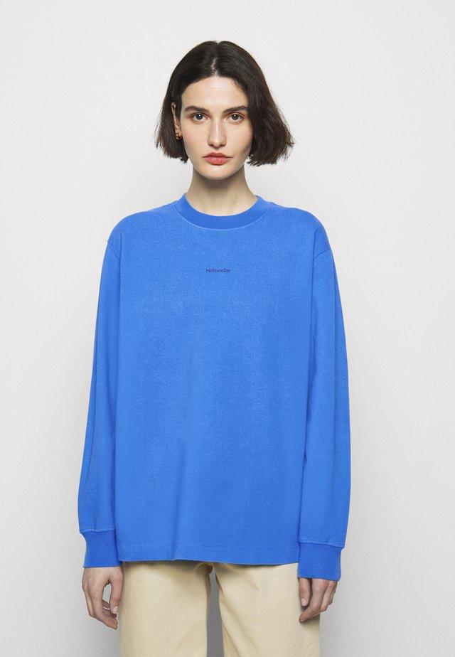 LURING PRINT - Topper langermet - blue