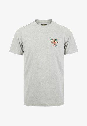 TILL DEATH T-SHIRT - Print T-shirt - grey