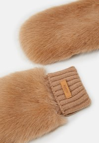 Barts - DOROTHY MITTS - Mittens - light brown - 1
