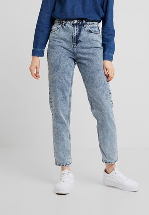 MOM - Relaxed fit jeans - acid wash blue