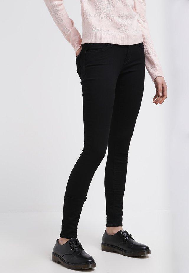 NATALIE - Jeans Skinny Fit - dana black strech