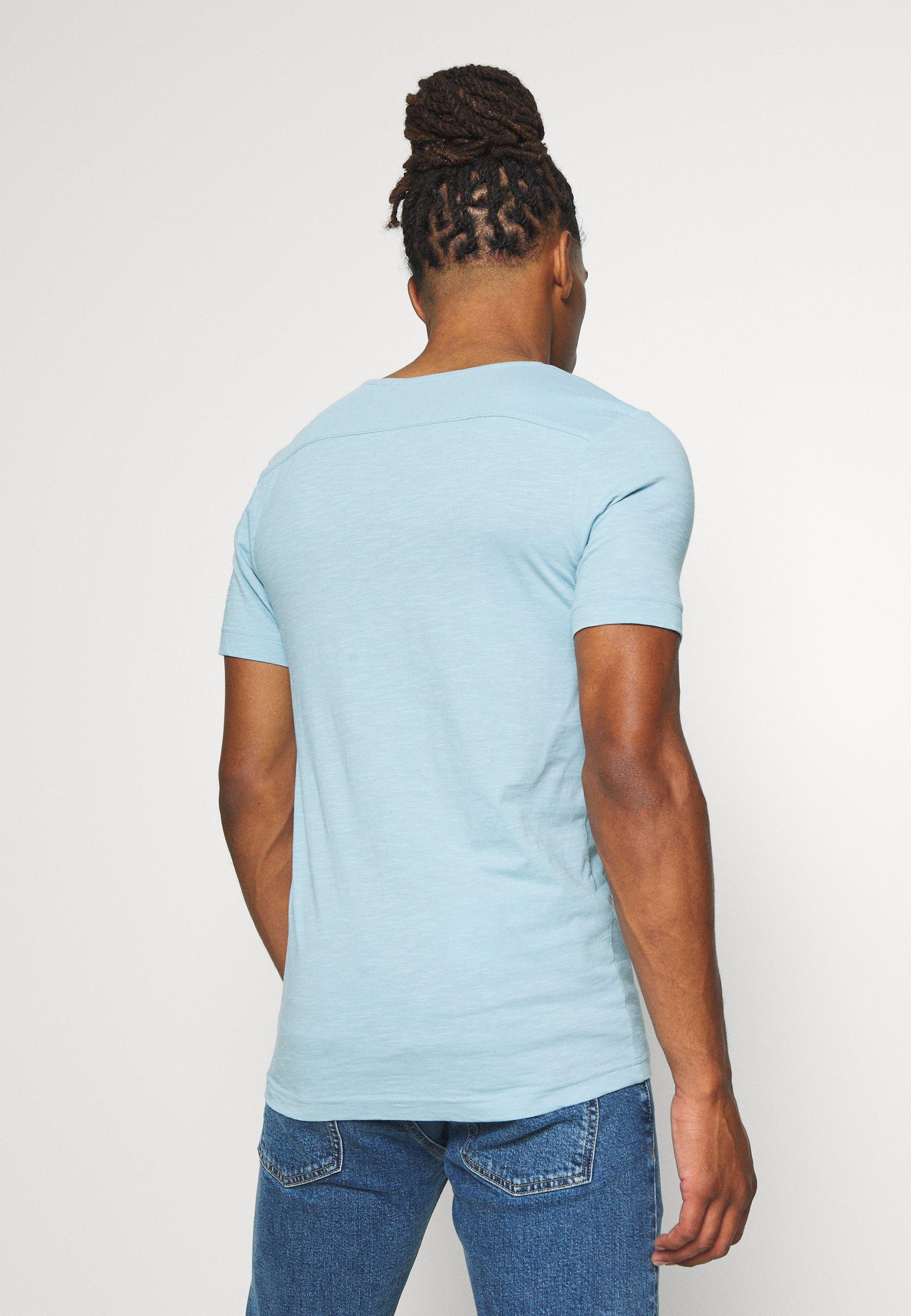 G-Star ALKYNE SLIM  - Basic T-shirt - deep sky N0lgU