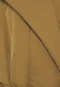 Proenza Schouler White Label - MATTE PUFFER LONG COAT - Zimní kabát - cider - 2