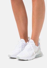 Nike Sportswear - AIR MAX 270 - Trainers - white/grey haze/light bone - 0