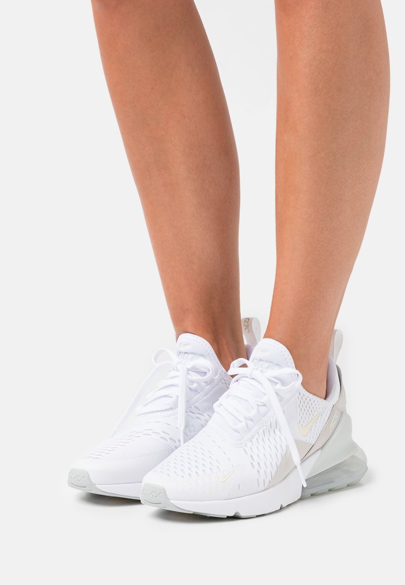 Nike Sportswear - AIR MAX 270 - Trainers - white/grey haze/light bone