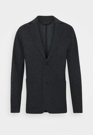 BIRK SLIM - Blazer jacket - anthracite/black